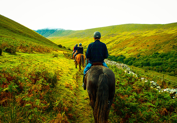 Horse Riding in Wales