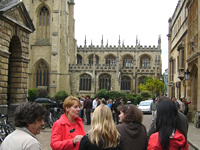 Oxford guided walking tour