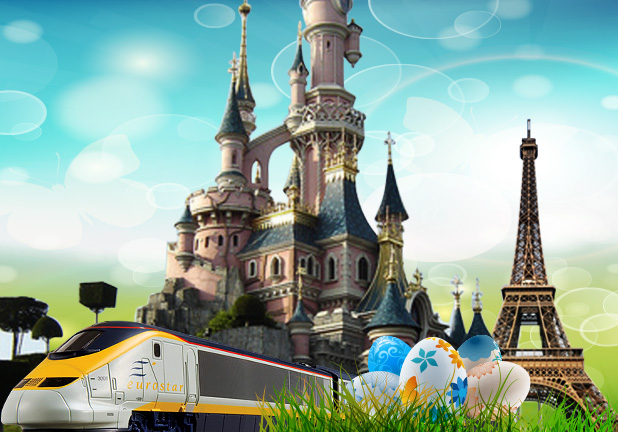 Paris by Eurostar 4 day Easter Special