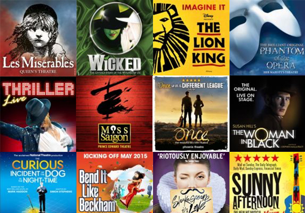 London Theatre Tickets & Attractions