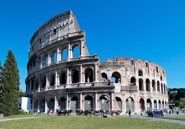 Rome to Civitavecchia with Colosseum & Roman Forum Tour